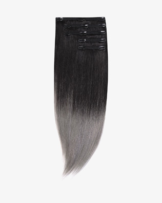 Ombre Clip In Extensions 55 cm 220g